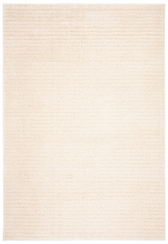 Martha Stewart Collection Lucia Shag Area Rug - Ivory Perspective: front