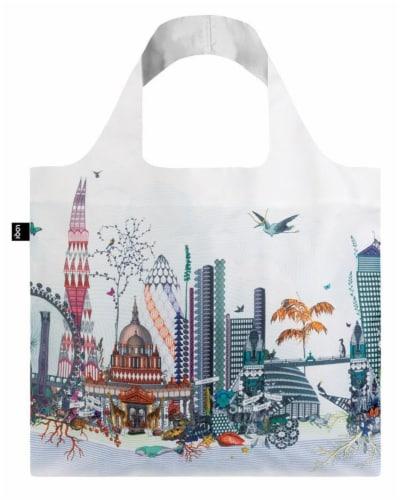 LOQI Artist Kristjana S Williams Interiors London Reusable Shopping Bag Perspective: front