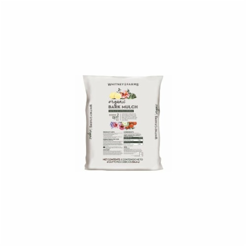 Scotts Growing Media 210815 2 cu ft Whitney Farms Organic Bark Mulch Perspective: front