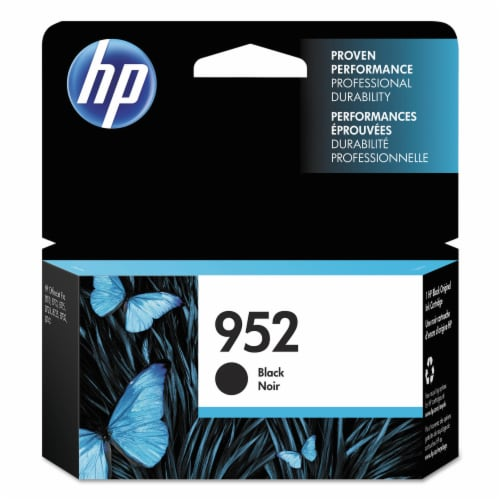 HP 952 Original Ink Cartridge - Black Perspective: front