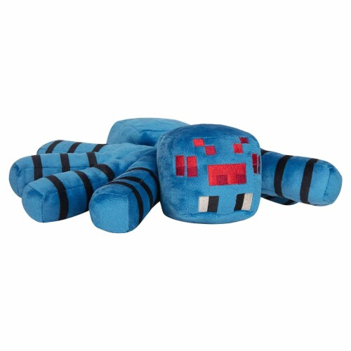 Minecraft Adventure Series 15 Inch Collectible Plush Toy - Cave Spider Perspective: front
