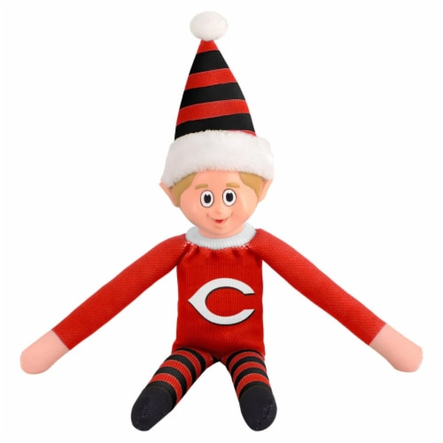 Cincinnati Reds Plush Elf Perspective: front