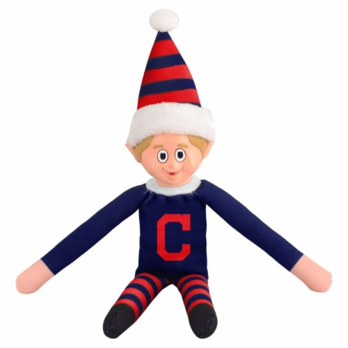 Cleveland Indians Plush Elf Perspective: front