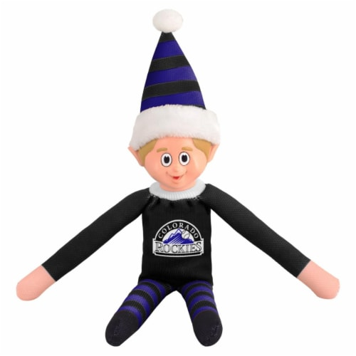 Colorado Rockies Plush Elf Perspective: front