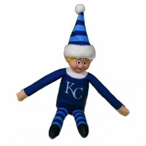 Kansas City Royals Plush Elf Perspective: front