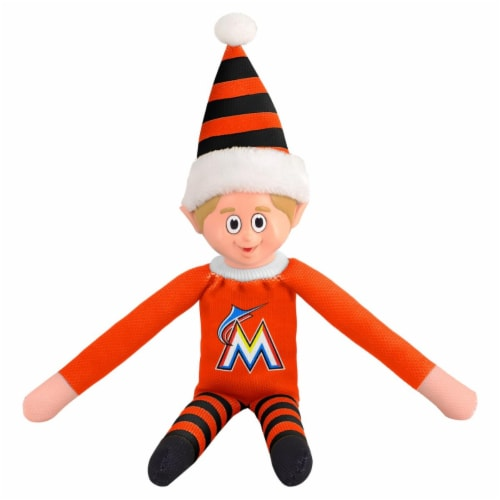 Miami Marlins Plush Elf Perspective: front