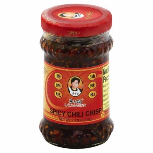 Lao Gan Ma Spicy Chili Crisp Perspective: front