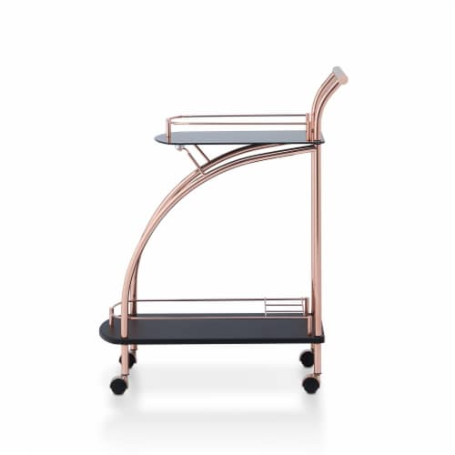 Avena Rolling Kitchen Cart Perspective: front
