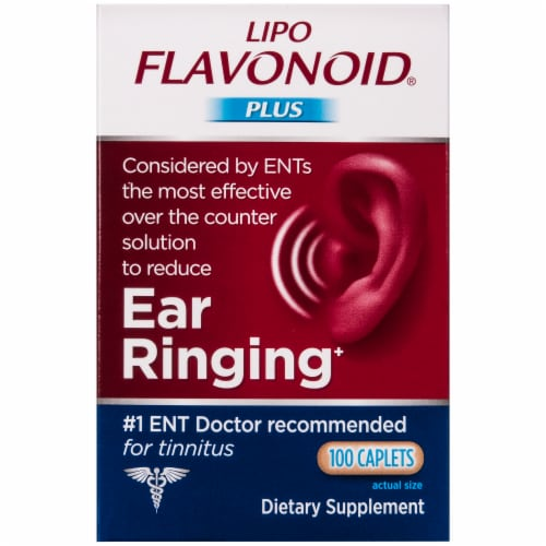 Lipo Flavonoid Plus Inner Ear Health Caplets Perspective: front