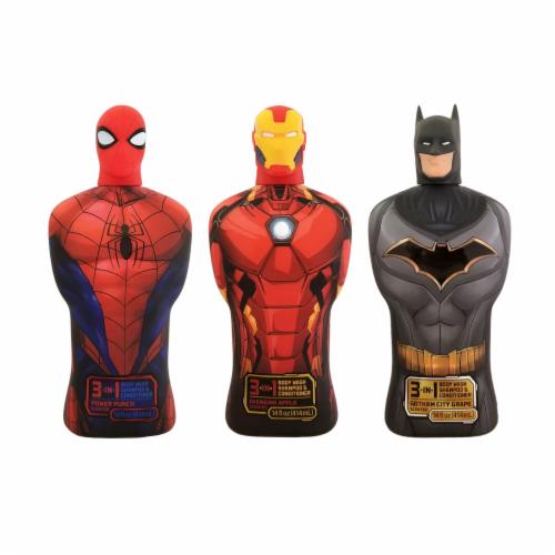 Centric Brands Marvel Superhero 3-in-1 Body Wash Shampoo & Conditioner Perspective: front