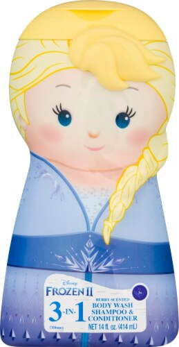 Centric Brands Frozen 2 Elsa Berry Scented 3 in 1 Body Wash Shampoo & Conditioner Perspective: front