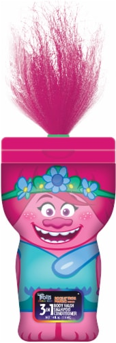 Dreamworks Trolls Kids Poppy 3-in-1 Assorted Body Wash Perspective: front