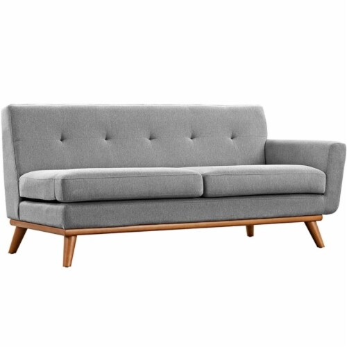 Engage Right-Arm Upholstered Loveseat Perspective: front