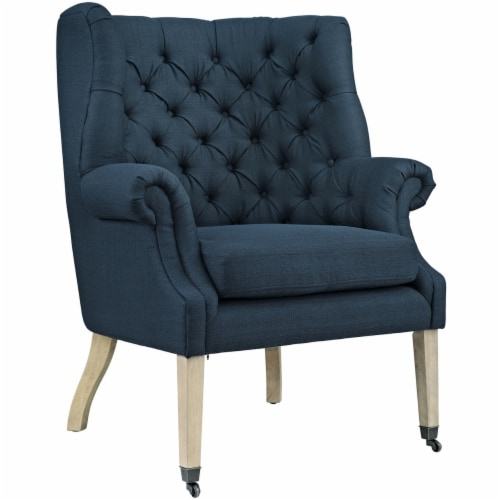 Chart Upholstered Fabric Lounge Chair Perspective: front