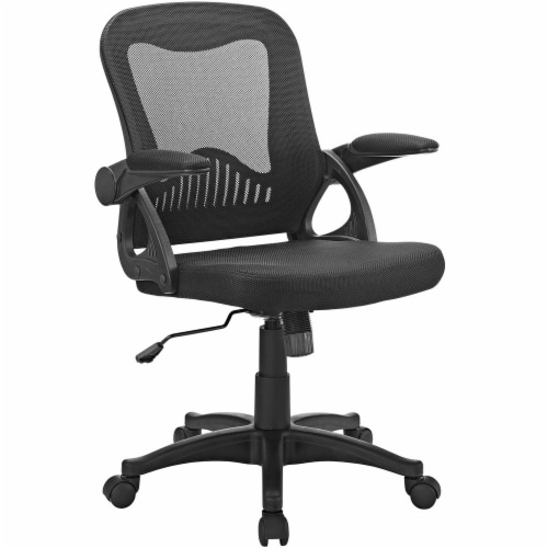 Black Advance Office Chair Perspective: front