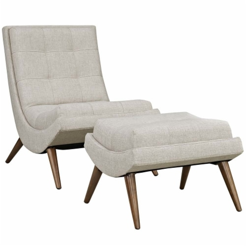 Sand Ramp Fabric Lounge Chair Set Perspective: front