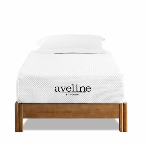"""Aveline 10"""" Twin Mattress - Perspective: front"""