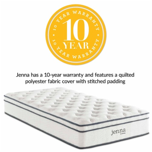"""Jenna 10"""" Twin Innerspring Mattress - Perspective: front"""