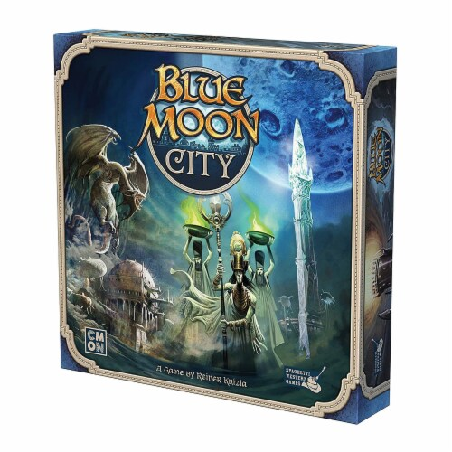 Blue Moon City The Board Game Perspective: front