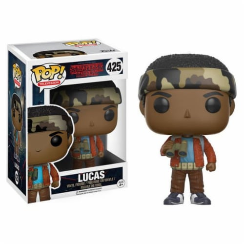 Funko POP Television Stranger Things Lucas Toy Figure Perspective: front