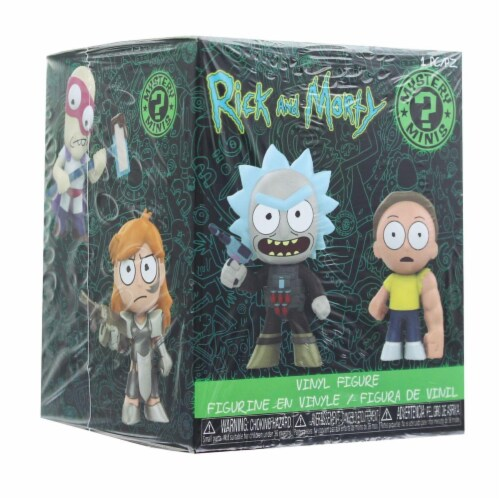Rick and Morty Funko Mystery Mini Figure Series 2, One Random Perspective: front