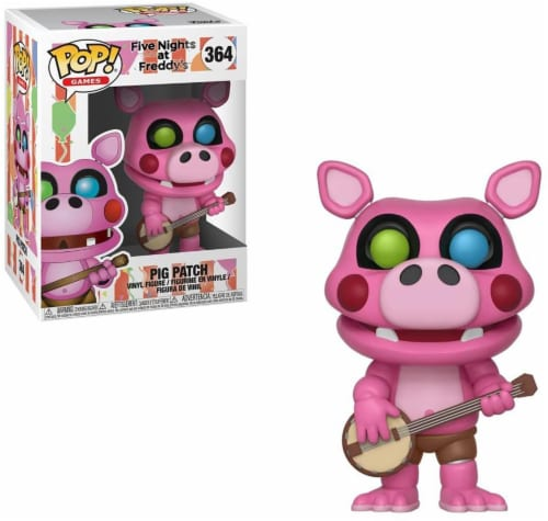 Five Nights At Freddys Funko POP Games Vinyl Figure | Pig Patch Perspective: front