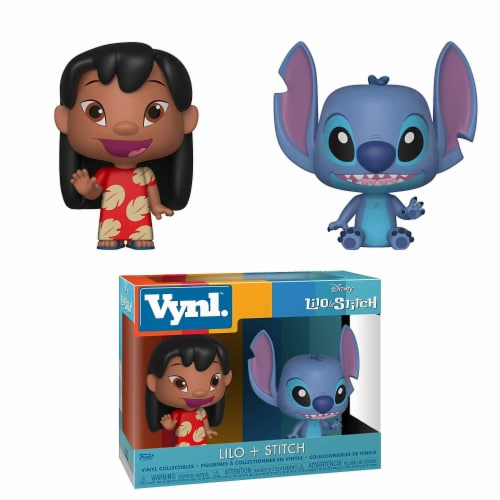 Disney Lilo & Stitch Funko VYNL Figure Set - Lilo & Stitch Perspective: front