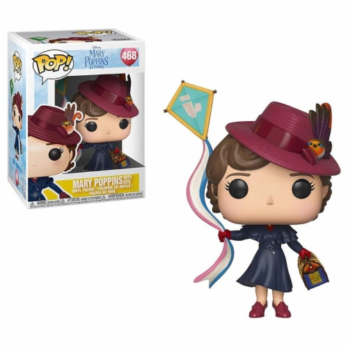 Disney Mary Poppins Funko POP Vinyl Figure - Mary w/ Kite Perspective: front