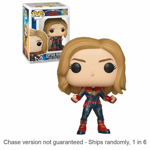 Captain Marvel Pop! Vinyl Chase Ships 1 in 6 Perspective: front