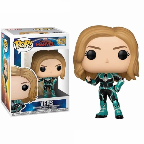 Captain Marvel 110687 Captain Marvel Pop Marvel Vers Action Figure Perspective: front