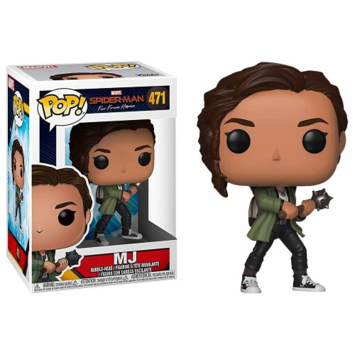 Spider-Man Far From Home 111468 Spider-Man Far From Home Pop MJ Action Figure Perspective: front