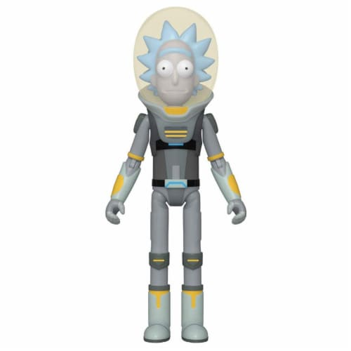 Rick & Morty Space Suit Rick Funko Action Figure Perspective: front