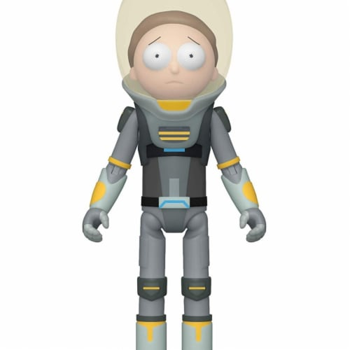 Rick & Morty Space Suit Morty Funko Action Figure Perspective: front