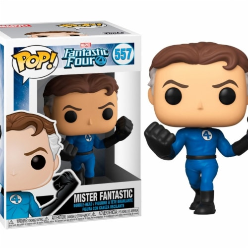 Funko Pop Marvel Fantastic Four - Mister Fantastic Perspective: front