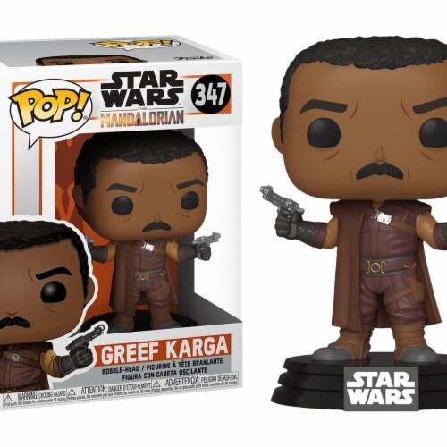 Star Wars Mandalorian Greef Karga Funko Pop Perspective: front