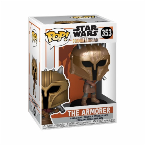 Star Wars Mandalorian the Armorer Funko Pop Perspective: front