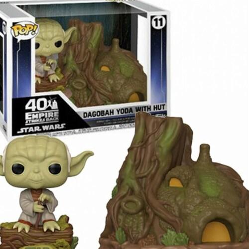 Star Wars Yoda Hut Funko Pop Perspective: front