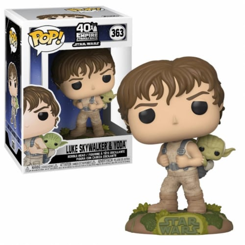 Star Wars - Training Luke with Yoda Funko Pop Figure Perspective: front