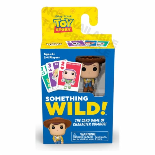 Funko Disney Something Wild Toy Story Card Game Perspective: front