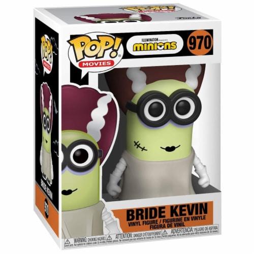 Funko Minions POP Bride Kevin Vinyl Figure Perspective: front