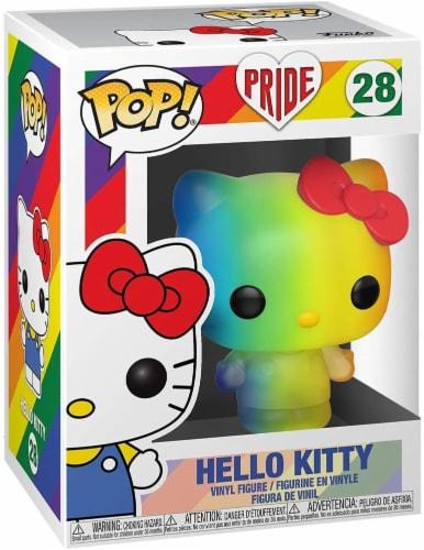 Sanrio Funko POP Vinyl Figure | Hello Kitty Pride 2020 Perspective: front