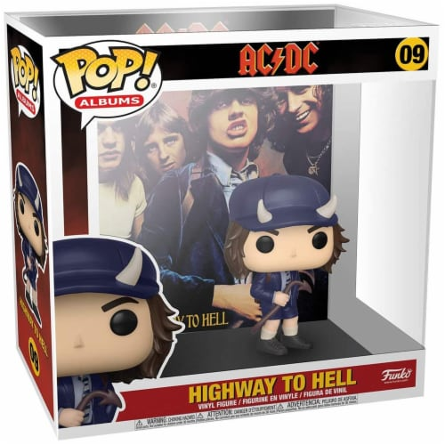 Funko AC DC POP Albums Highway To Hell Set Perspective: front