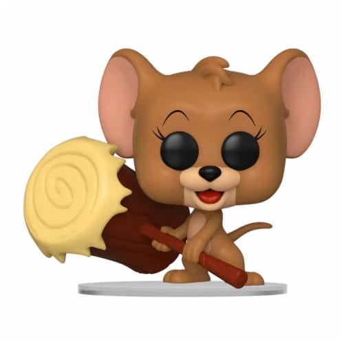 Funko Tom And Jerry POP Jerry With Mallet Vinyl Figure Perspective: front