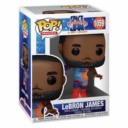 Funko Space Jam New Legacy POP Lebron James Jumping Figure Perspective: front