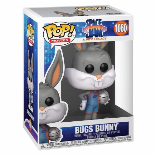 Funko Space Jam New Legacy POP Bugs Bunny Figure Perspective: front