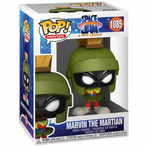 Funko Space Jam New Legacy POP Marvin The Martian Vinyl Figure Perspective: front