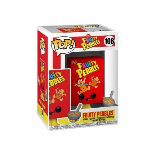 Funko Fruity Pebbles POP Fruity Pebbles Box Figure Perspective: front
