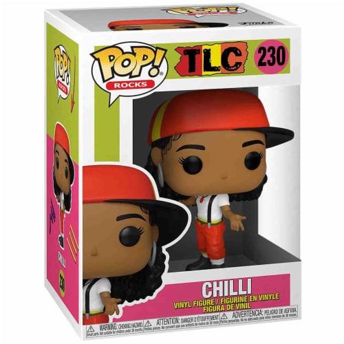 Funko Rocks TLC POP Chilli Vinyl Figure Perspective: front