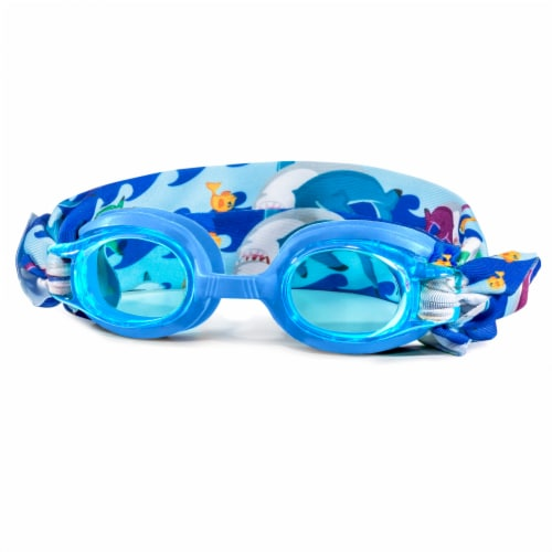Eye Pop Ocean Waves Free Style Child Goggles Perspective: front