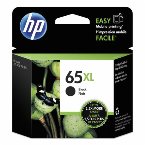 HP 65XL High Yield Original Ink Cartridge - Tri-Color Perspective: front